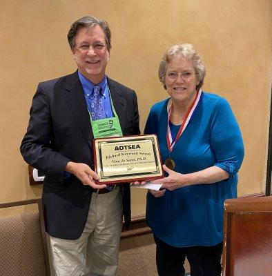 2021 Kaywood Award Nina Jo Saint, Ph.D.